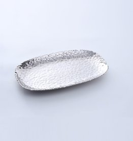 Pampa Bay Medium Serving Platter, Silver