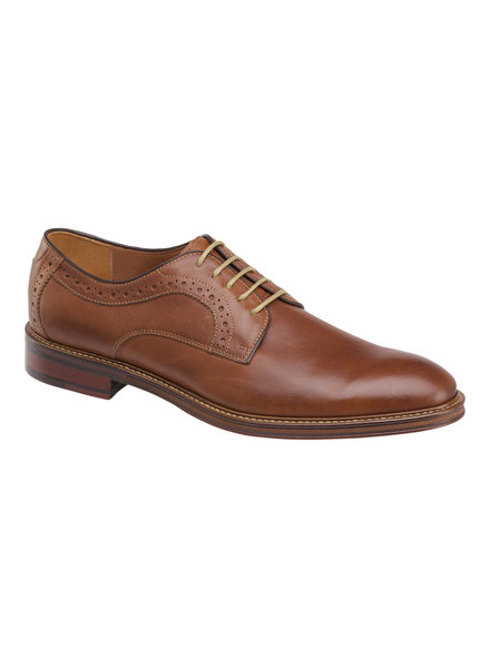 JOHNSTON & MURPHY Warner Plain Toe Dress Shoe