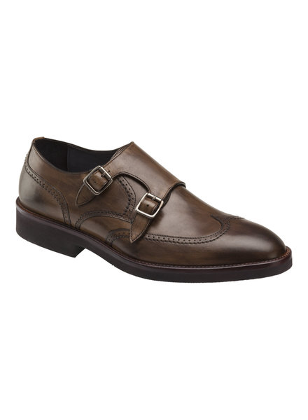 JOHNSTON & MURPHY Ridgeland Double Buckle Dress Shoe