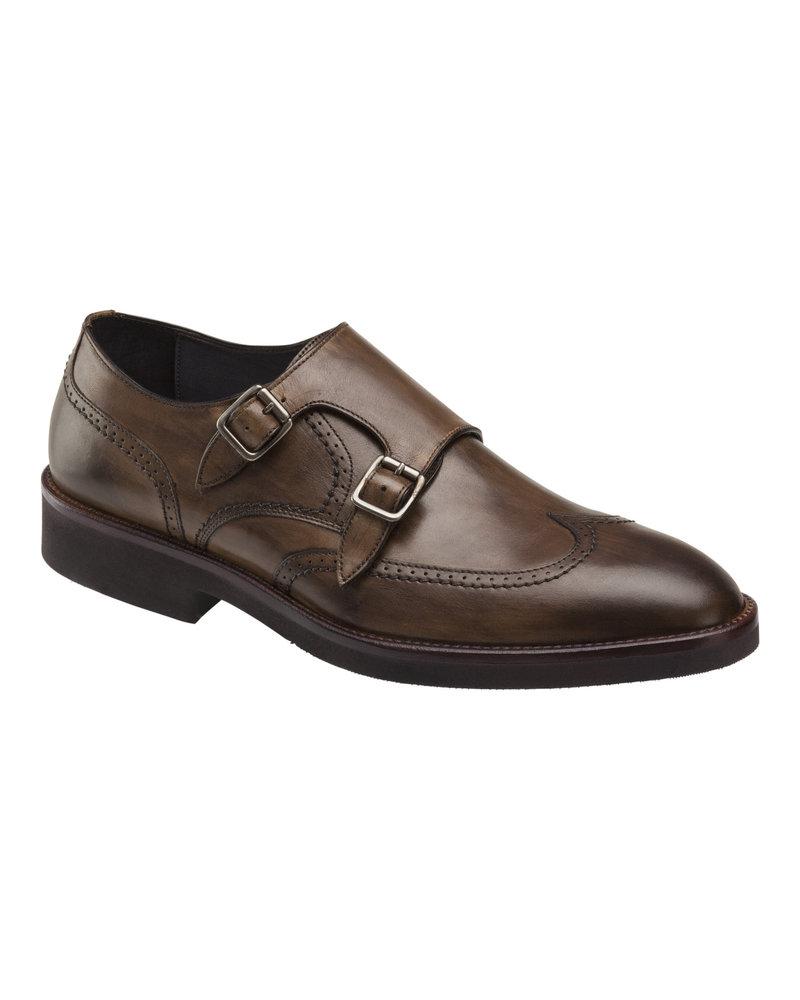 JOHNSTON & MURPHY Ridgeland Double Buckle Dress Shoe