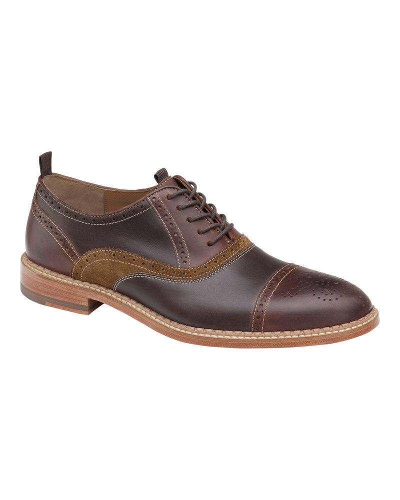JOHNSTON & MURPHY Chambliss Cap Toe Dress Shoe