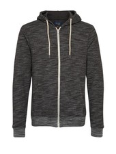 BLEND Heathered Full Zip Hoodie