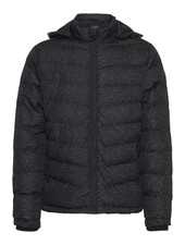 BLEND Puffer Black Reflective Flecks Coat