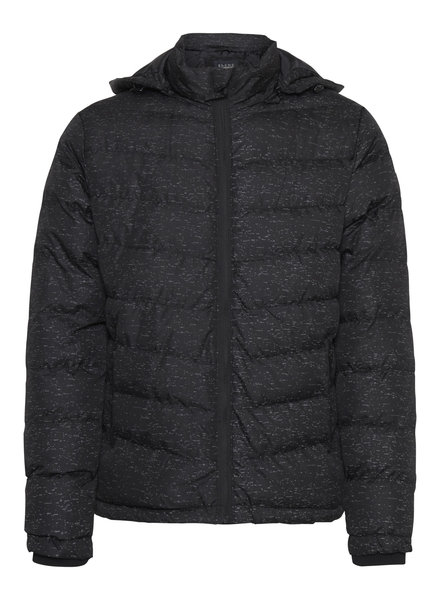 BLEND Puffer Black Reflective Flecks Jacket