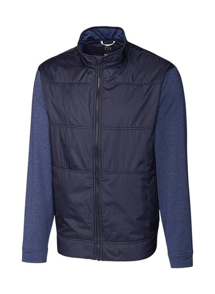 CUTTER & BUCK Quilted Front Full Zip