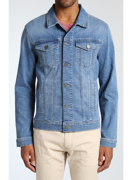 34 HERITAGE Travis Light Blue Jean Jacket