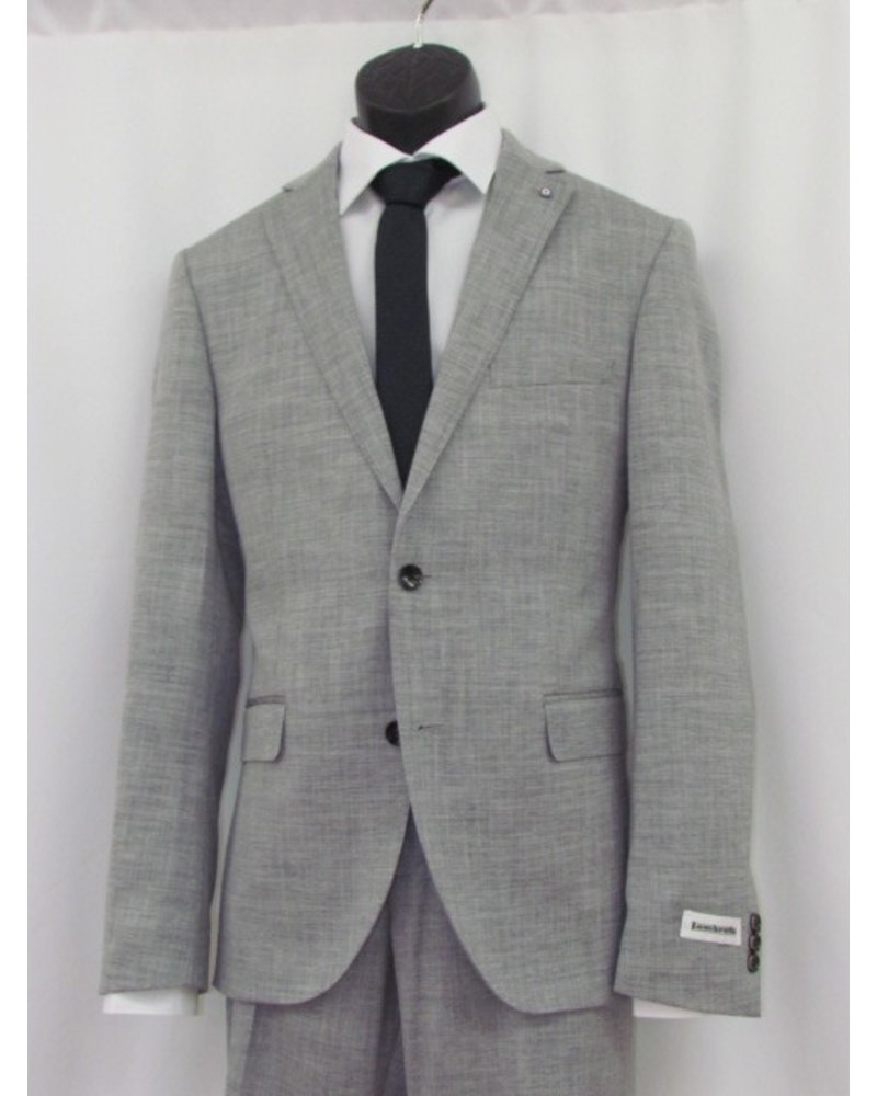 LAMBRETTA Slim Fit Light Grey Suit