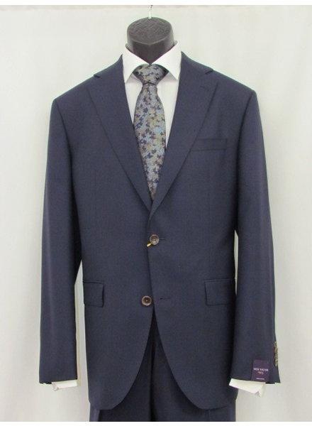JACK VICTOR Modern Fit Century Plain Navy Suit
