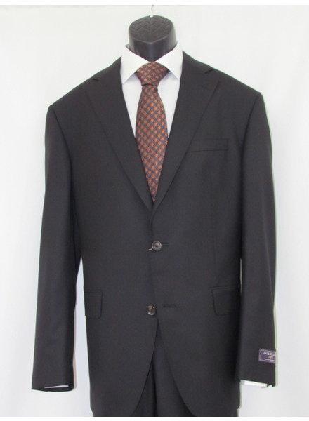 JACK VICTOR Century Solid Black Suit