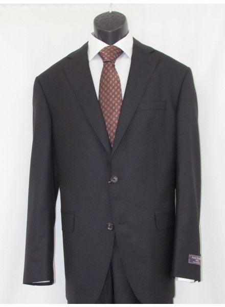 JACK VICTOR Modern Fit Century Solid Black Suit