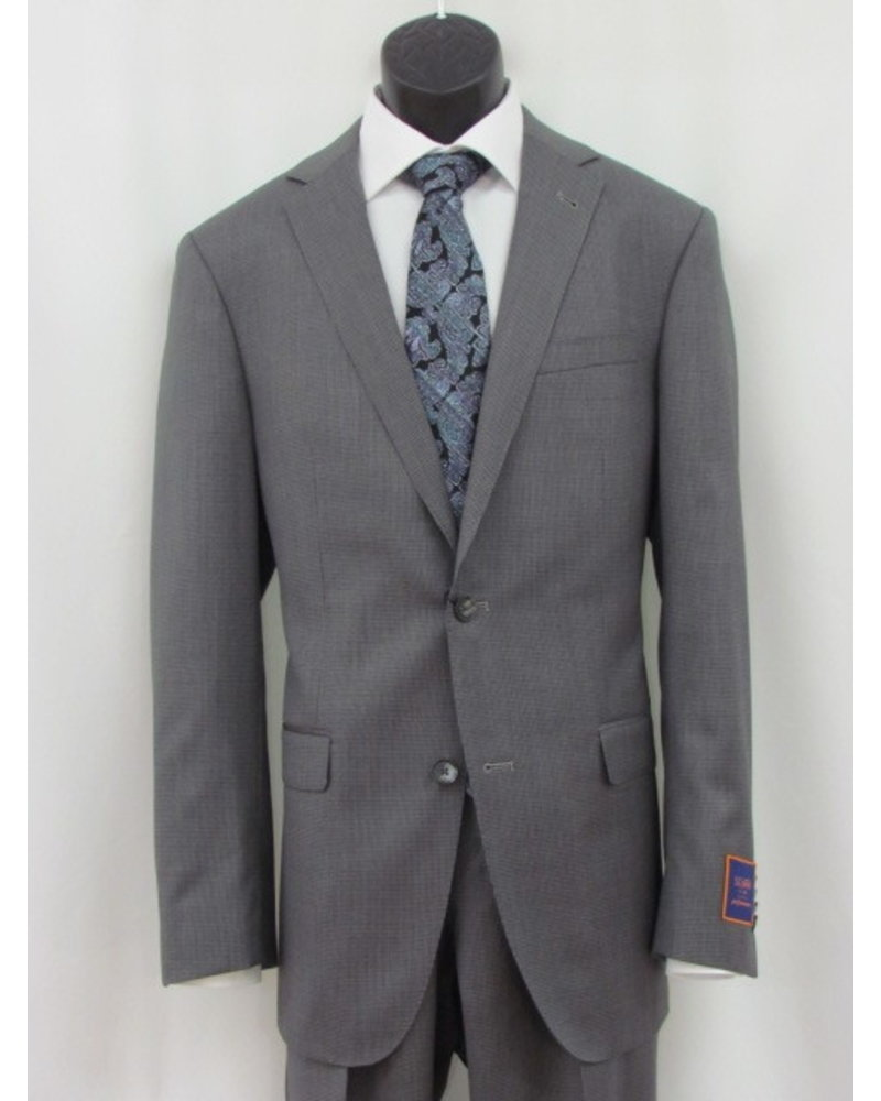 S COHEN Modern Fit Mid Grey Neat Suit