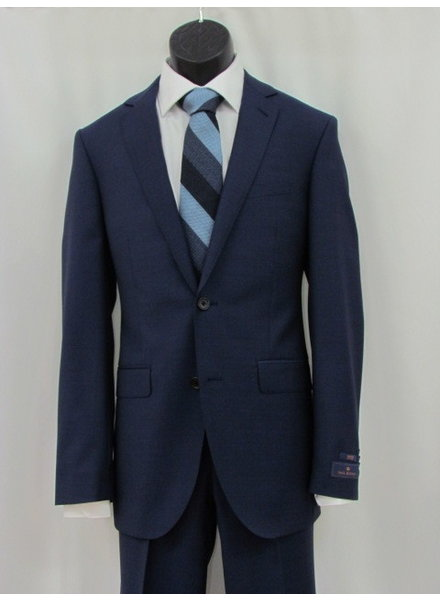 PAUL BETENLY Modern Fit Super Blue Suit