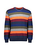 PAUL & SHARK Colours of Shetland Lambswool Striped Sweater