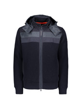 PAUL & SHARK Insulated Merino Knit Jacket Navy