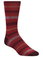 BUGATCHI UOMO Multi Striped Socks