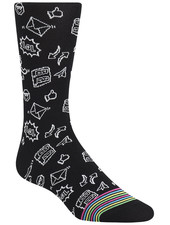 BUGATCHI UOMO Emoji Sock