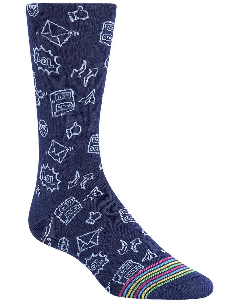 BUGATCHI UOMO Emoji Socks