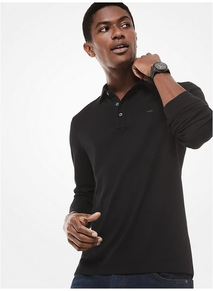 MICHAEL KORS Long Sleeve Sleek Polo