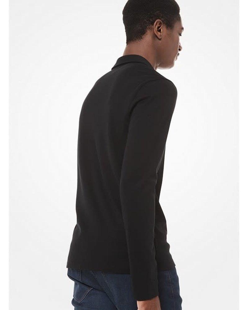 MICHAEL KORS Long Sleeve Sleek Polo