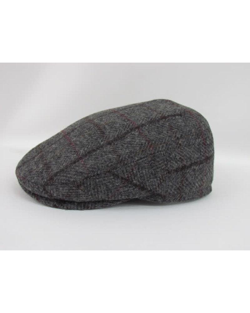 GOTTMANN Plaid Tweed Flat Cap