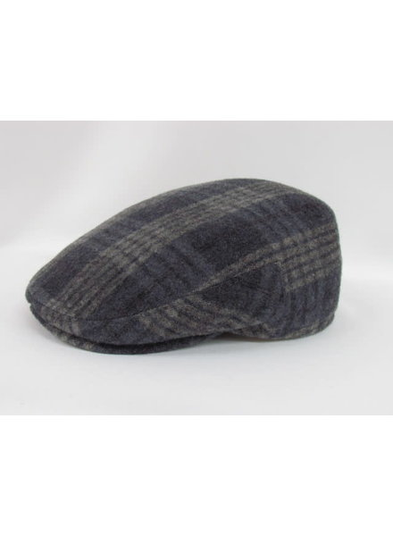 GOTTMANN Plaid Tweed Flat Cap