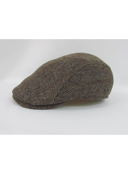 GOTTMANN Tan Wool Herringbone Hat
