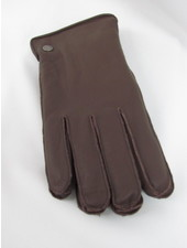 BUGATTI Goatskin Open Top Gloves