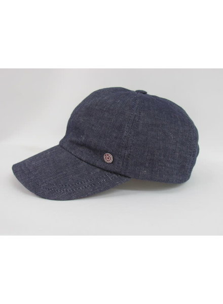 BUGATTI Wool Blend Blue Ball Cap