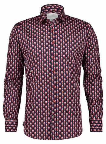 A FISH NAMED FRED Art Deco Ornaments Red Shirt