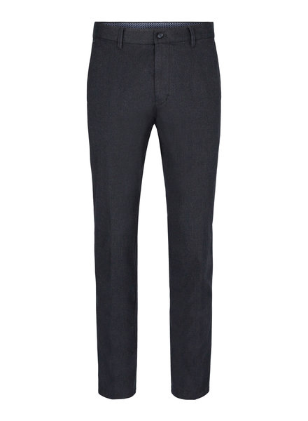 SUNWILL Modern Fit Navy Nailhead Casual Pant