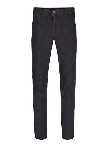 SUNWILL Modern Fit Charcoal Stretch Denim Pant