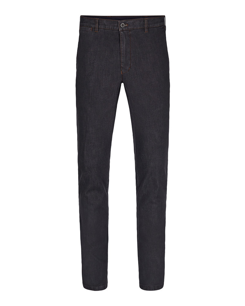 SUNWILL Modern Fit Charcoal Stretch Denim Pant