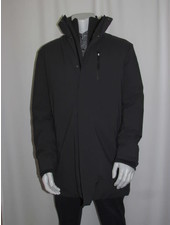 SAVE THE DUCK Long Grey Parka