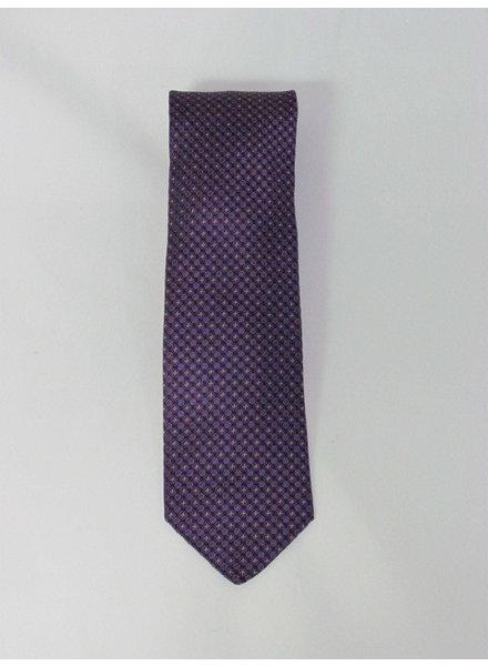 DION Purple Neat Tie