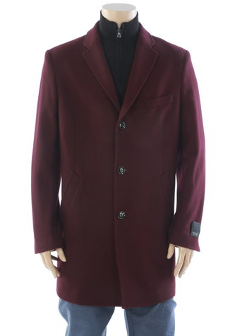 WEATHER REPORT Burgundy Wool Cashmere Ducati