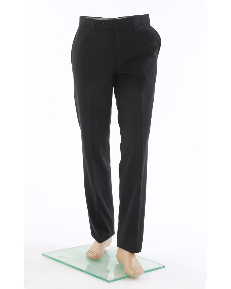 RIVIERA Classic Fit Black Washable Dress Pant