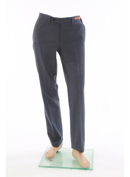 RIVIERA Modern Fit Mid Blue Basic Blended Pant Voyageur