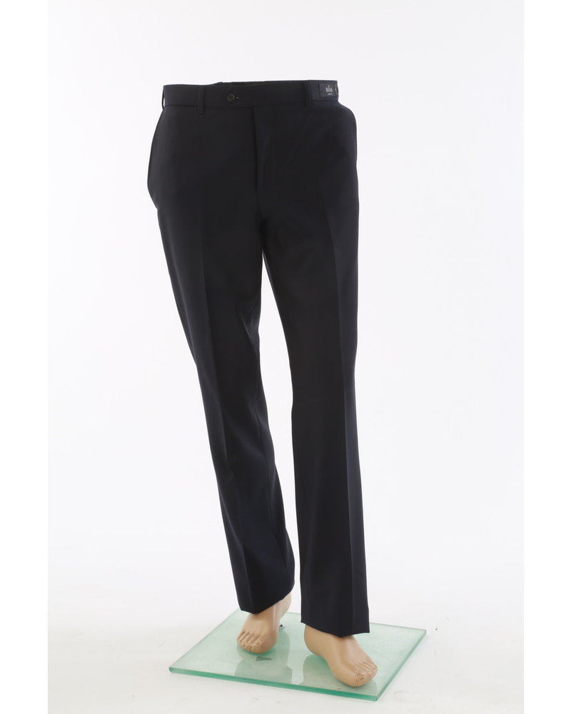 COPPLEY Slim Fit Black Wool Dress Pant