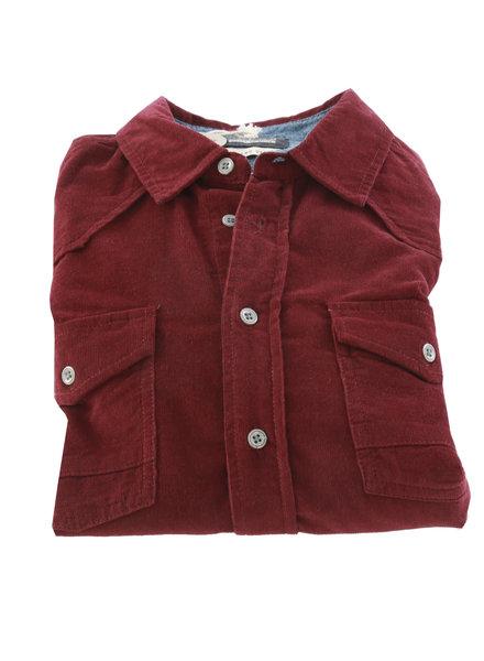 BLEND Burgundy Corduroy Shirt