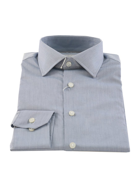 LIPSON Fashion Fit Steel Blue Solid