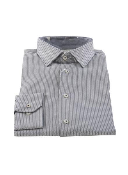 LIPSON Contemporary Fit Grey Stripe