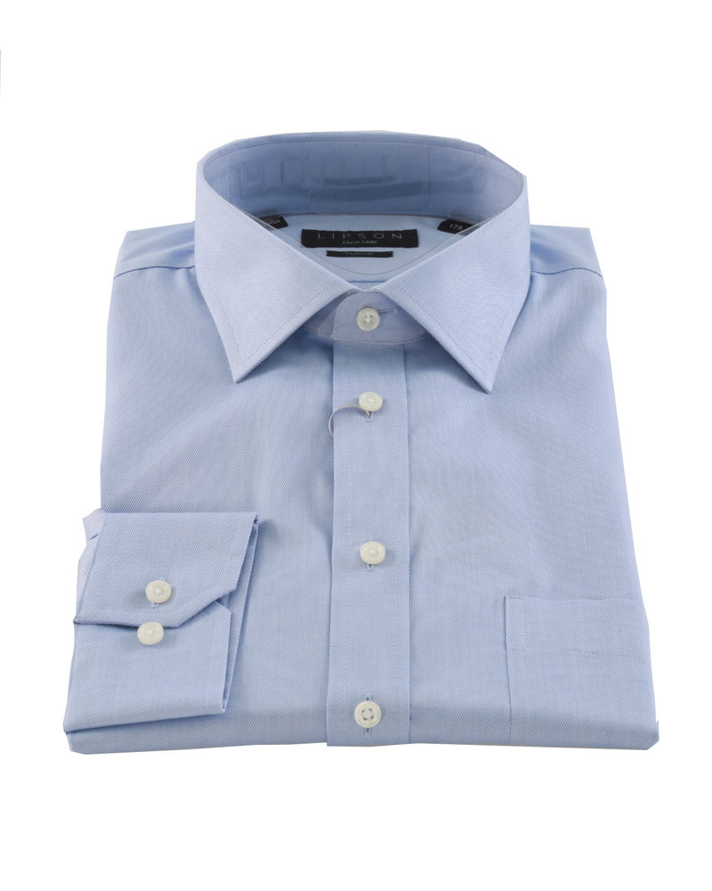 LIPSON Classic Fit Plain Easy Care Solid Oxford