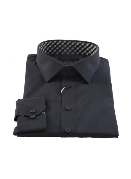 LIPSON Solid Dark Colour Shirt