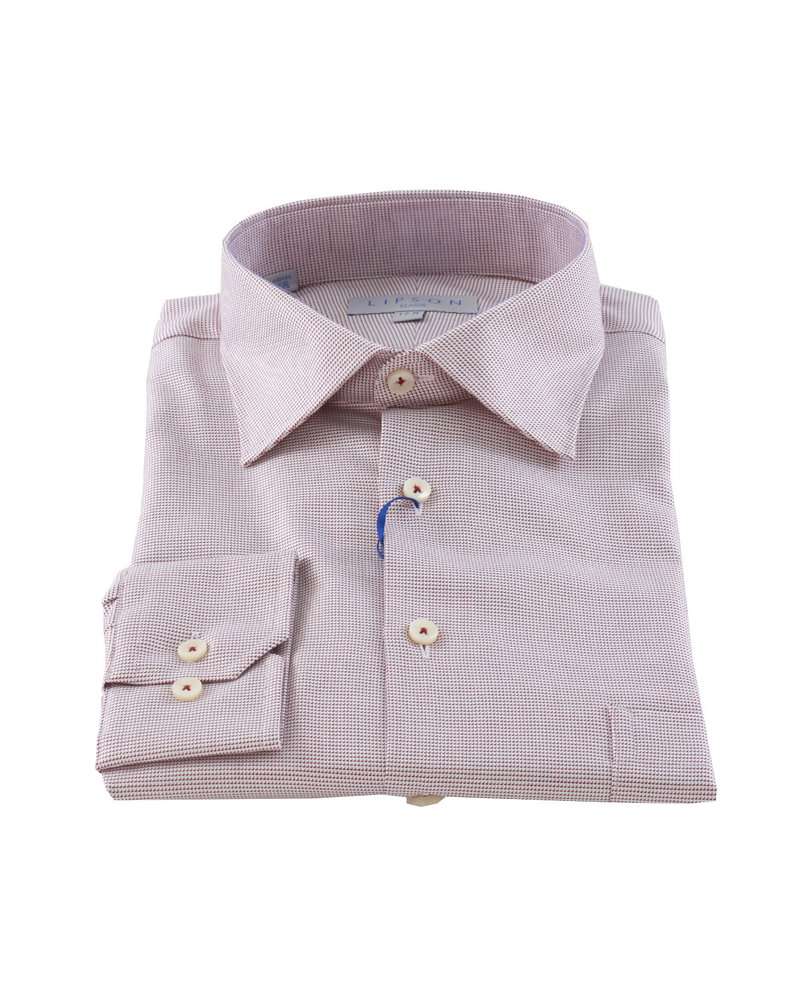 LIPSON Classic Fit Neat Pattern Shirt