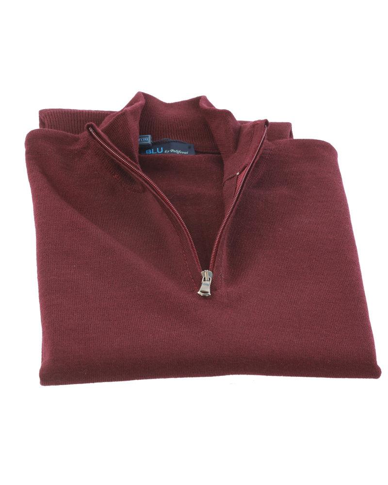 BLU BY POLIFRONI Wool Acrylic Sweater