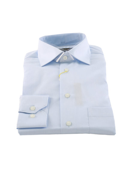 POLIFRONI Classic Fit Cotton Plain Shirt Non Iron