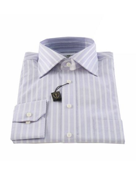 LIPSON Classic Fit Mauve Stripe Shirt