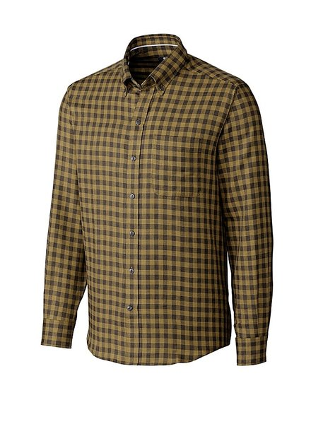 CUTTER & BUCK Classic Fit Crown Check Shirt