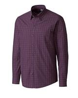 CUTTER & BUCK Purple Orchard Jacquard Check