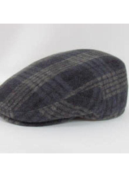 GOTTMANN Tweed Plaid Flatcap